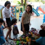 กิจกรรมตลาดนัดหัดขาย โรงเรียนอนุบาลระพีพรรณ