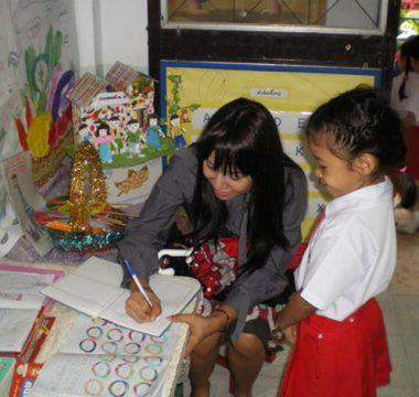 การเรียนการสอนของนักเรียน โรงเรียนอนุบาลระพีพรรณ นนทบุรี
